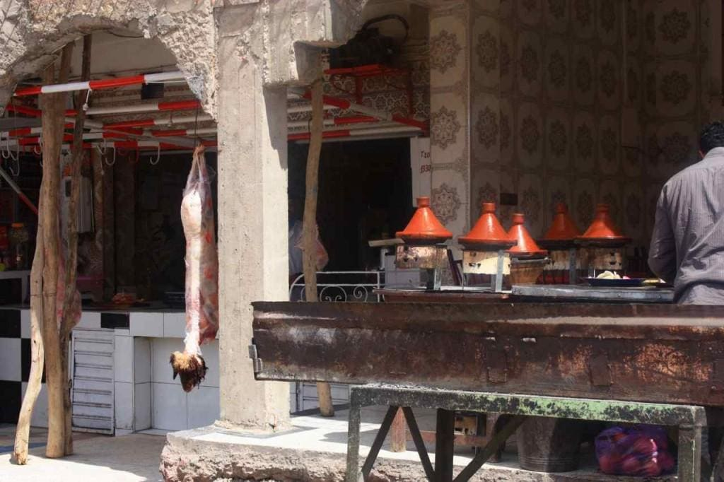 Restaurant in Zaida Morocco
