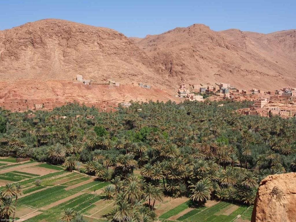 Ante Atlas desert country Morocco