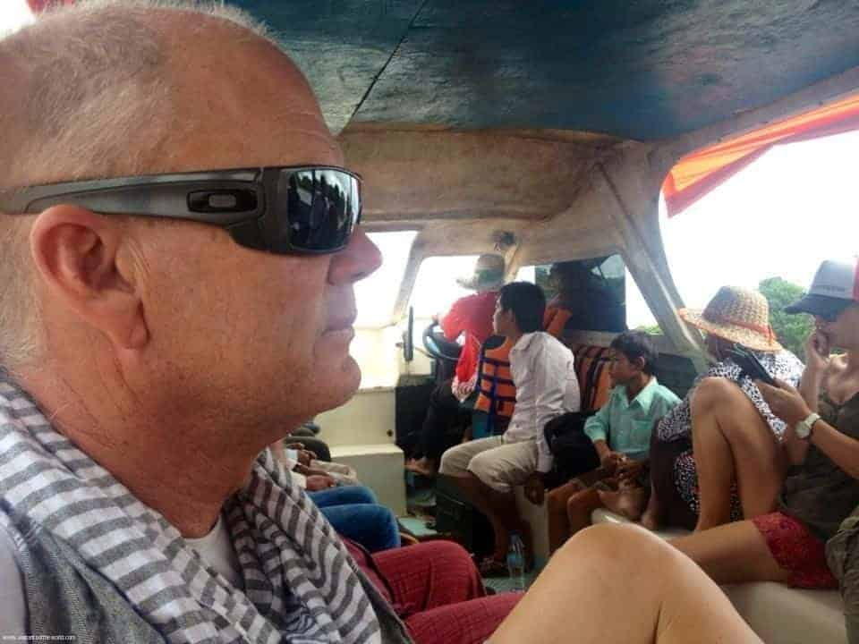On Lake Tonle Sap- Cambodia