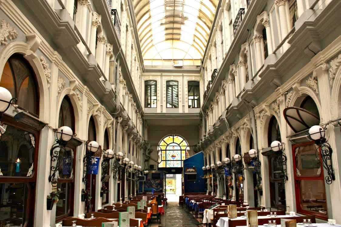 A guide to Istanbul. Pera District Turkey