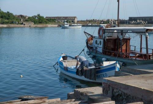 By The Black Sea. Summer in Sozopol Bulgaria
