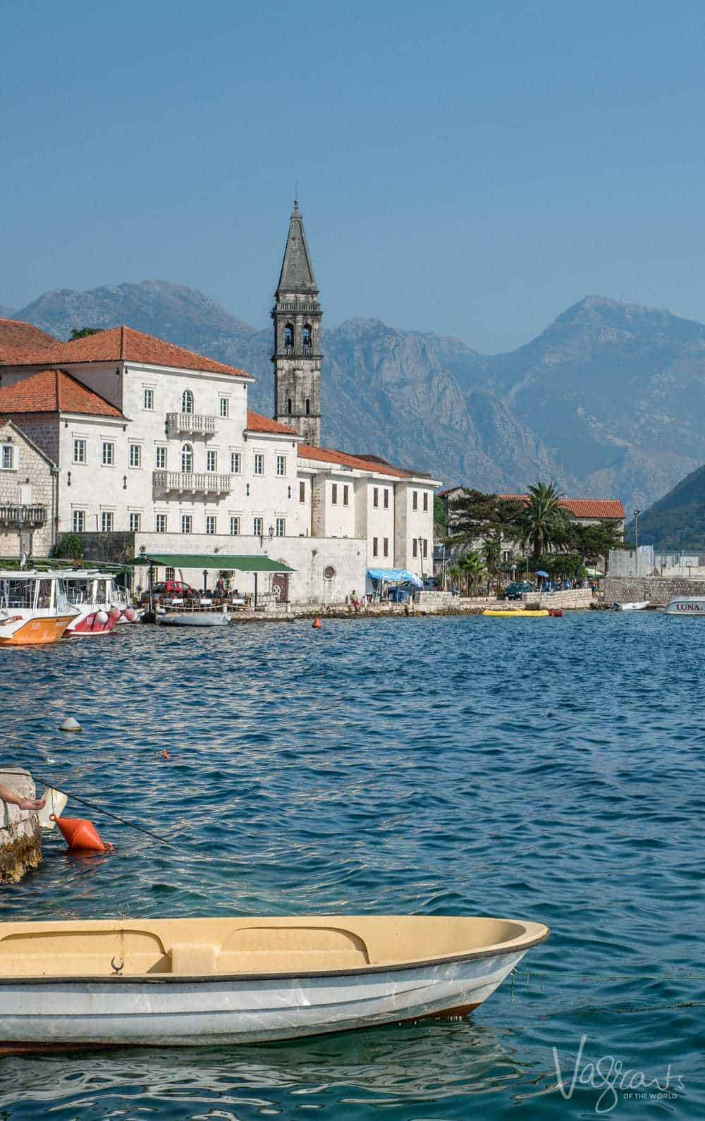 Montenegro - The town of Perast. It doesn't get prettier than this.
