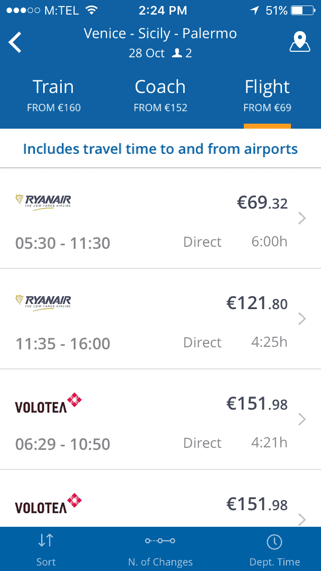 GoEuro- Travel Apps for Europe