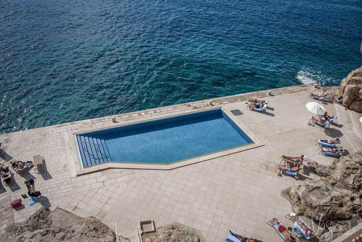 Hotels in Dubrovnik on the beach, Croatia