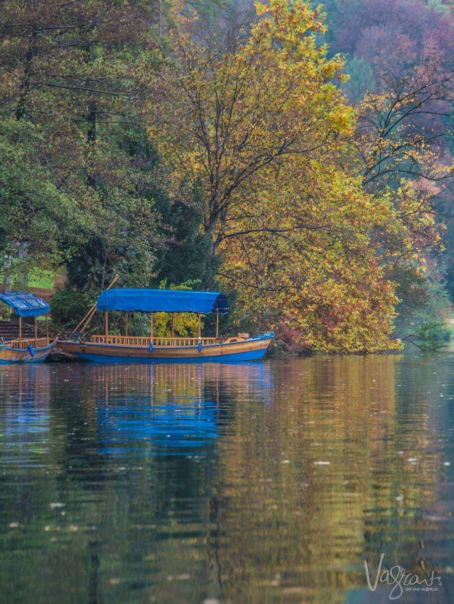 Beautiful Lake Bled Slovenia.