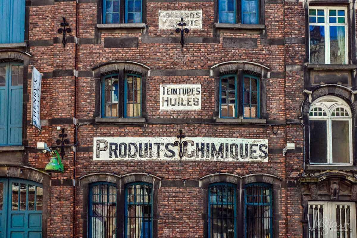 Ghent Belgium. Old Merchant Buildings
