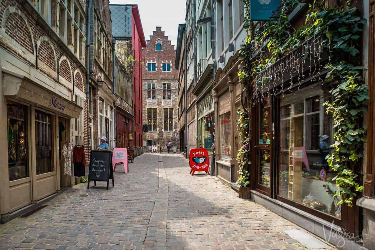 What to do in Ghent - Take a walking tour of the lanes
