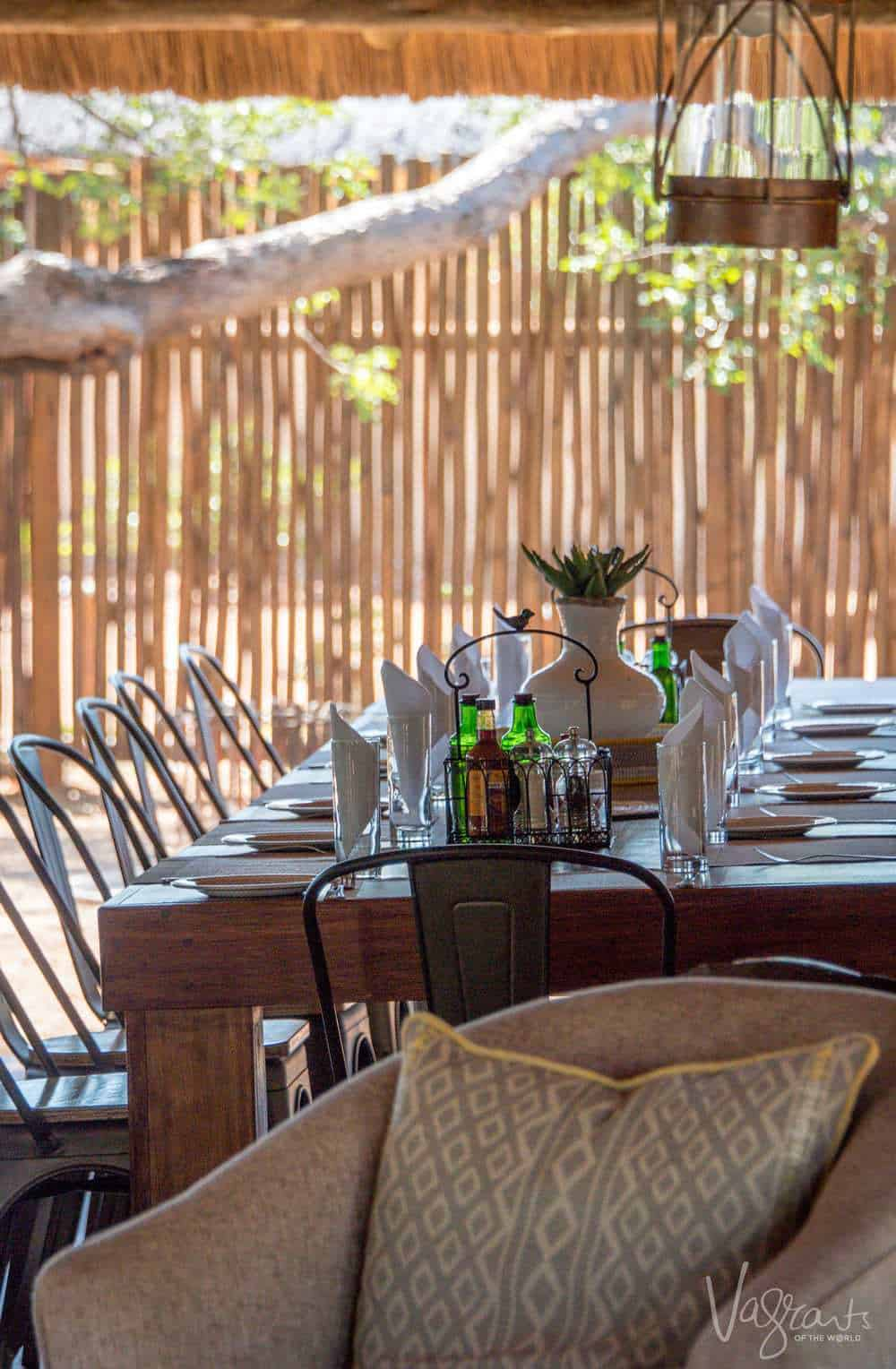 There's something about South African safari lodges. Is it the relaxed atmosphere?