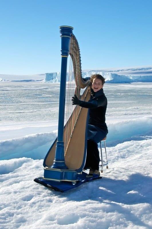 Alice on Mawson Sea Ice
