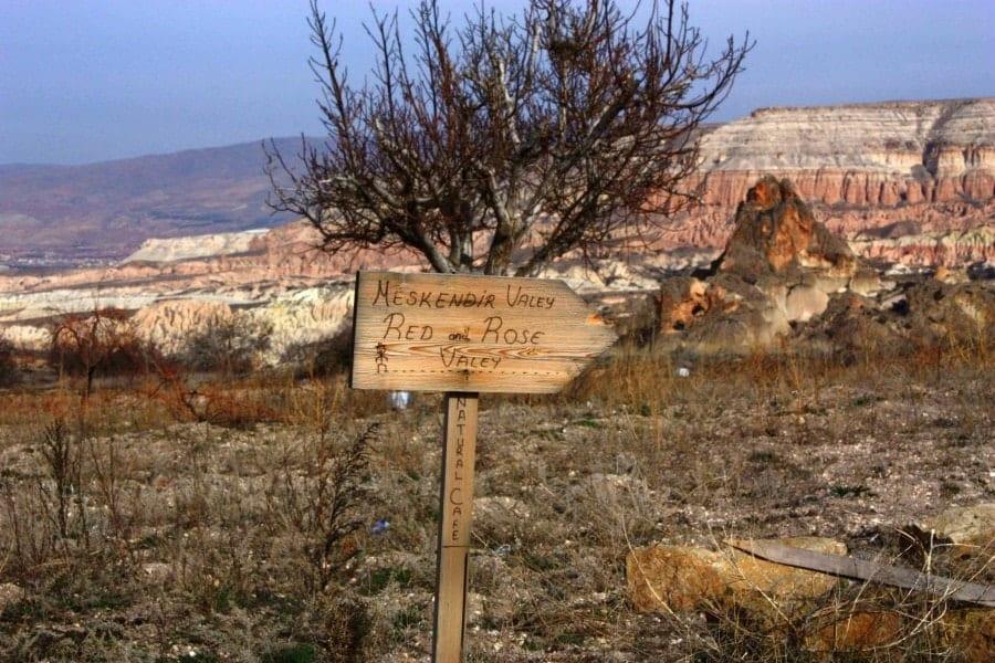 Rose Valley, Cappadocia Turkey