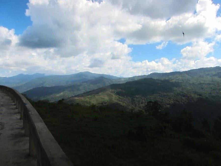 Views from Mount Kinabalu National Park. Sabah Borneo