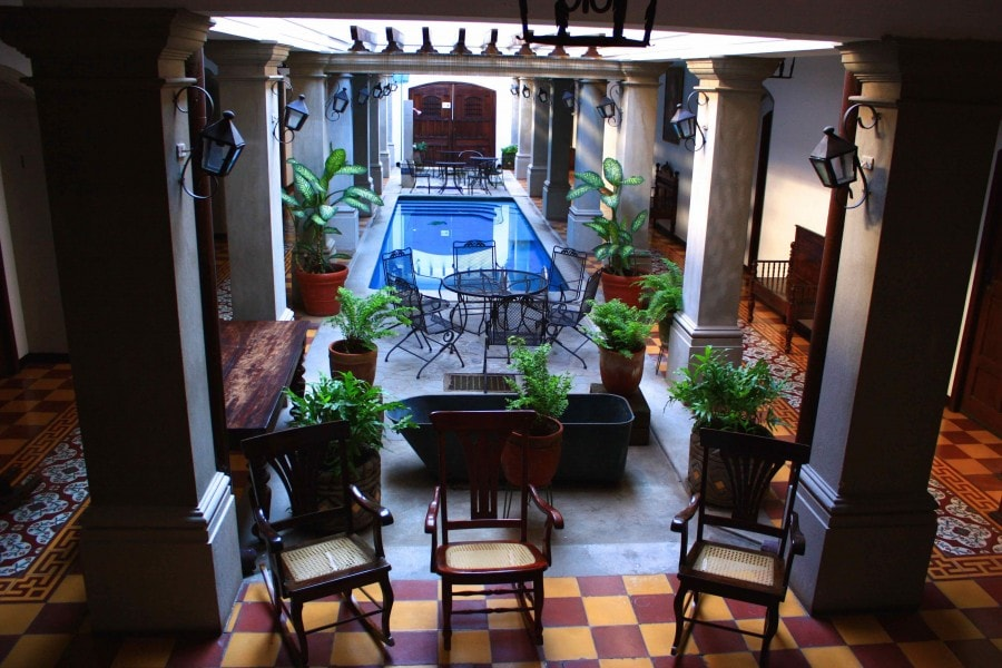 La Gran Fracia Foyer, Granada Nicaragua