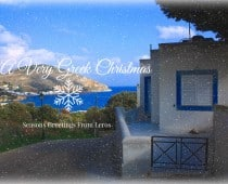 Christmas in Leros, Greece