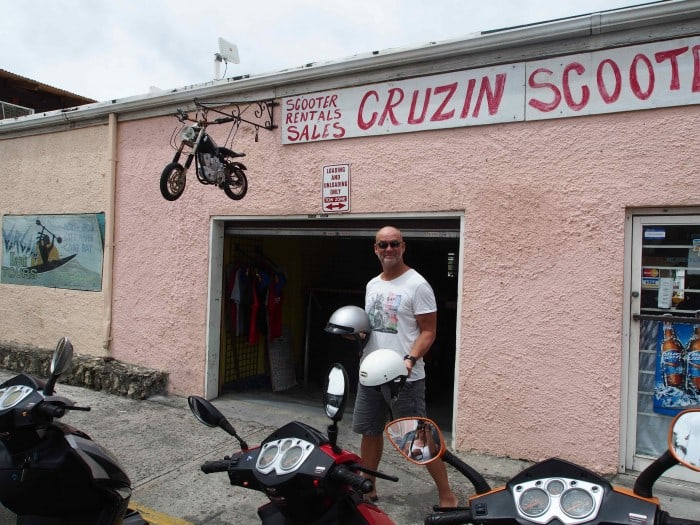 Cruzin Scooters Scooter hire. St Croix