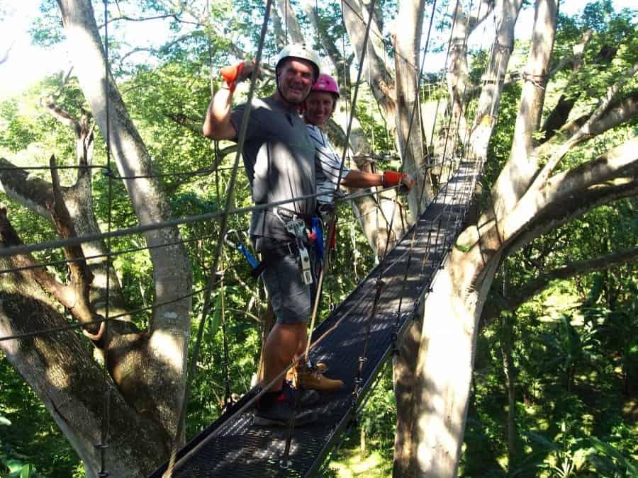 Canopy Tour Miavale, Mombacho Nicaragua